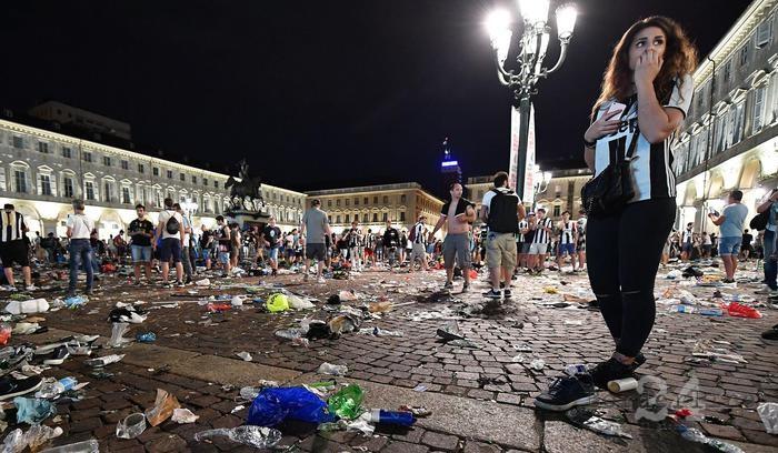 Torino, Piazza San Carlo: scattano gli inviti a comparire