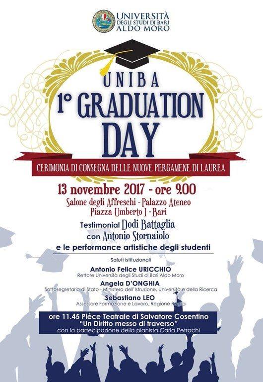 """Primo """"Graduation day"""" all'Università di Bari: arrivano le ..."""